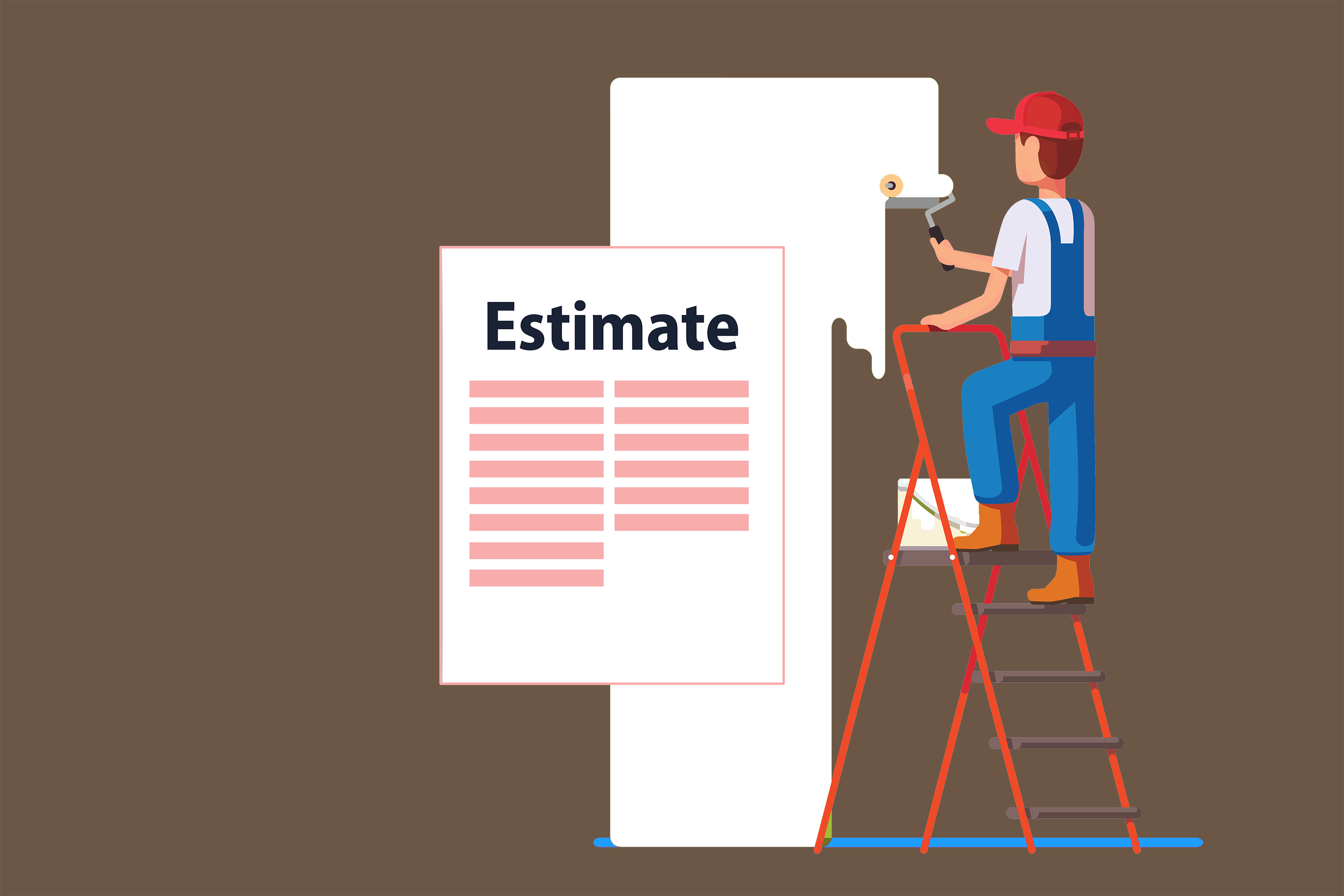 7 Steps to Complete a Painting Estimate